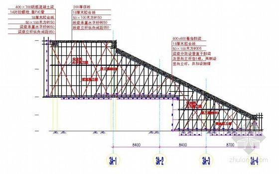 [天津]体育馆高支排架施工方案(计算书、详图)
