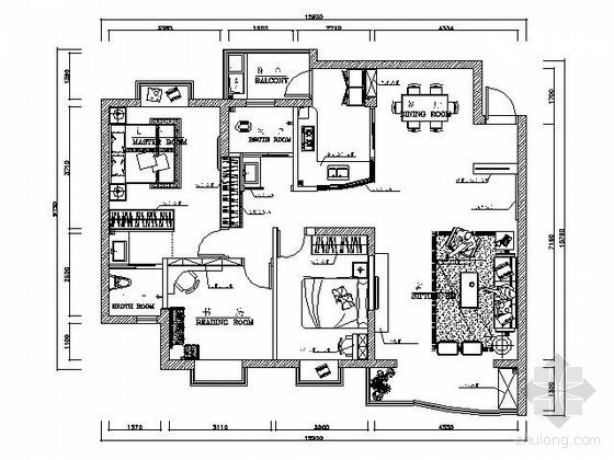 105平米现代三居装修图(含效果)