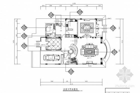 [苏州]邻近太湖风景区交通便利现代风格双层别墅装修图