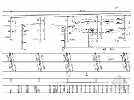 40m预应力混凝土组合T梁设计套图(72张)