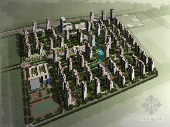 [安徽]某小区规划及单体设计方案文本(含CAD、多媒体)