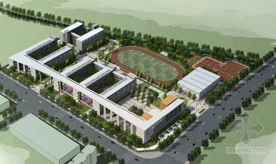 [安徽]现代风格中学校园规划及建筑设计方案文本