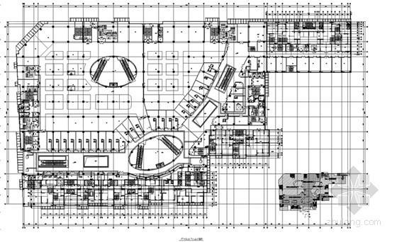 [江苏]综合建筑空调通风及防排烟系统设计施工图