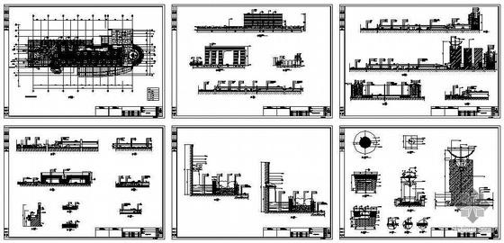 [上海]某会所二楼屋顶花园景观施工图-2