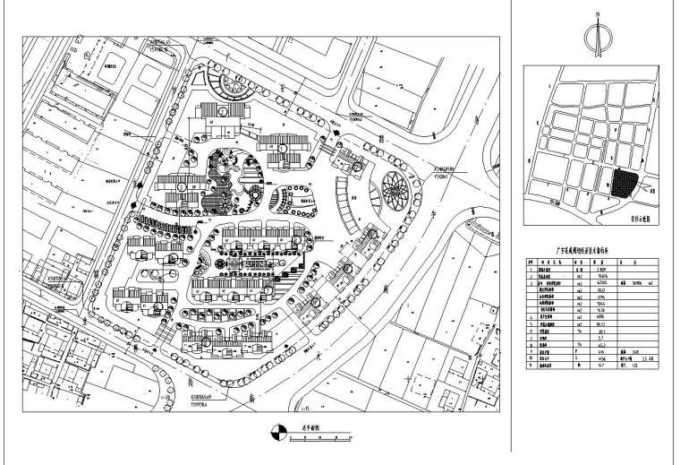 某花园综合住宅区详细规划cad28张_5