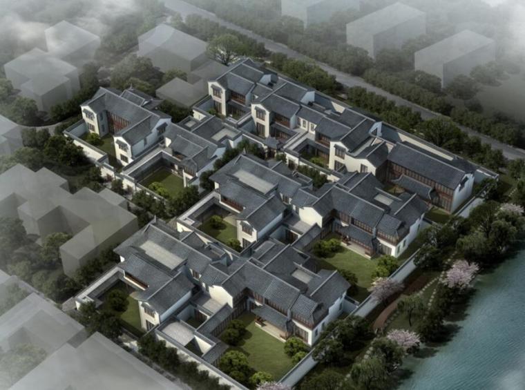 [天津]团泊湖住宅建筑概念方案文本(PPT+67页)