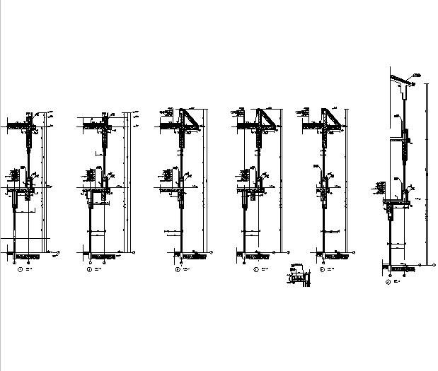 [辽宁]18栋商贸楼建筑施工图(含机电——结构图纸)_12