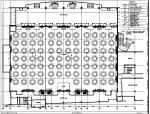 中山]新中式特色风情酒店宴会厅室内设计施工图