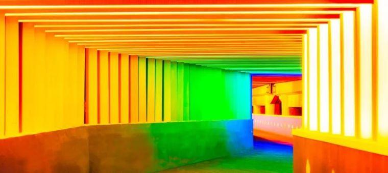 在城市间,穿越一道彩虹 | 上海公益公共空间