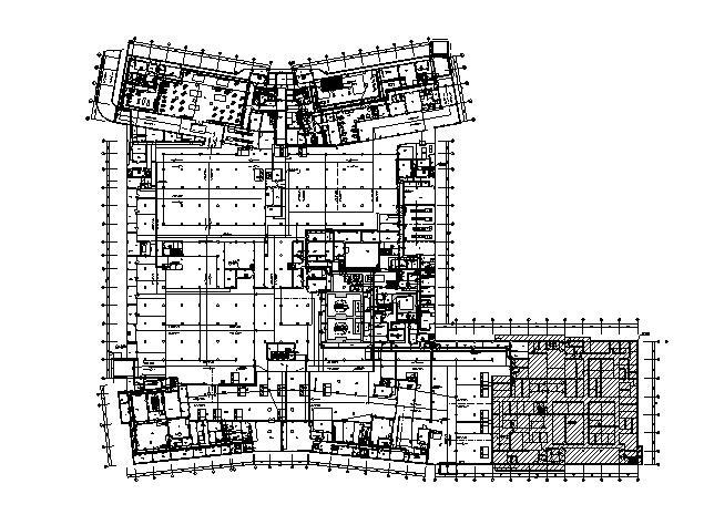 [安徽]大型医院智能化系统设计图纸107张