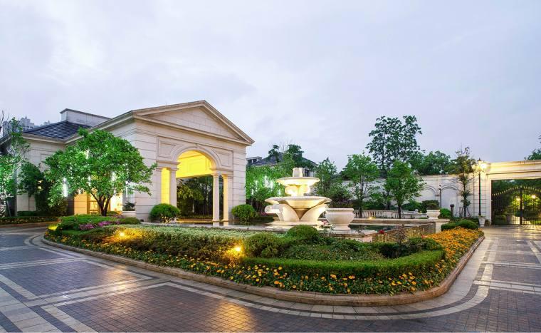 杭州绿城蓝庭西地块住宅景观