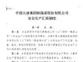 中国大唐集团新能源股份有限公司安全生产汇报制度