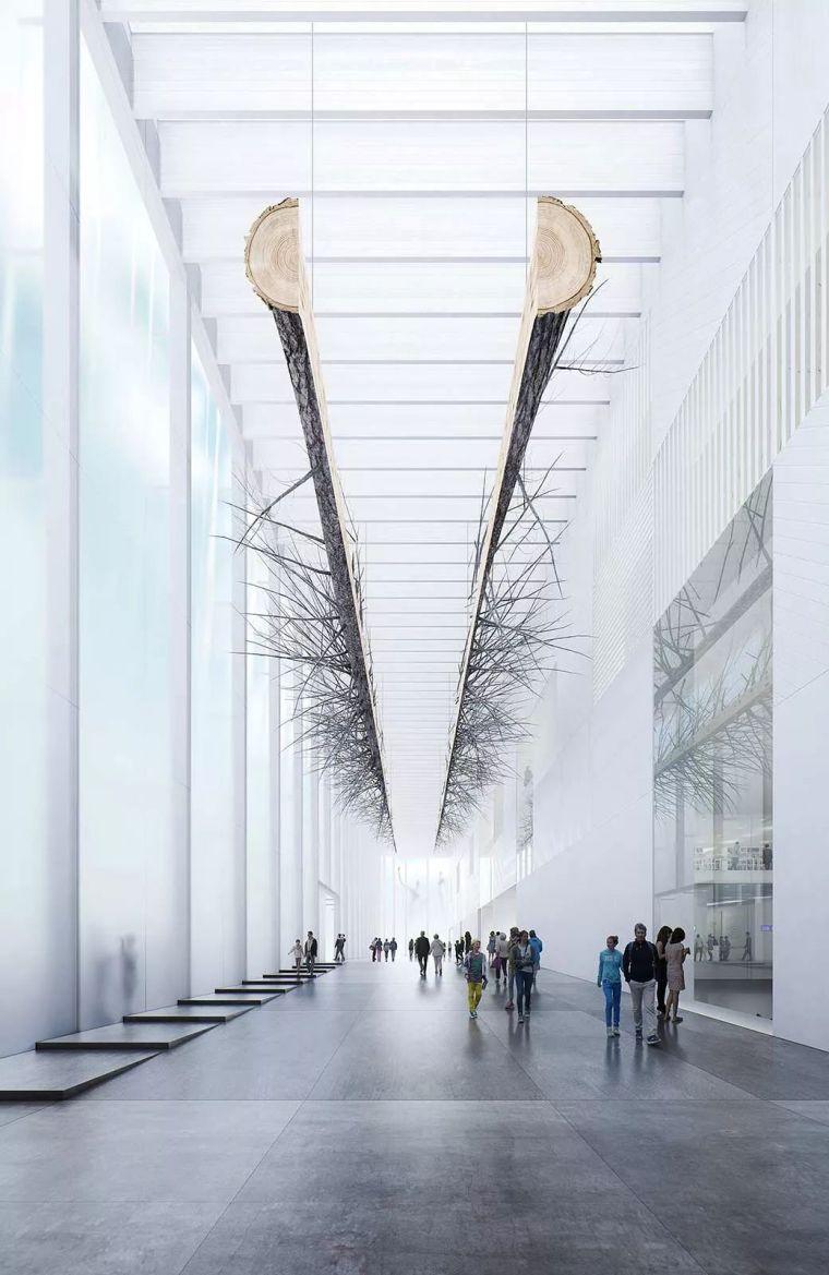 高冷色调展厅渲染图 | 渲出属于自己的效果图风格