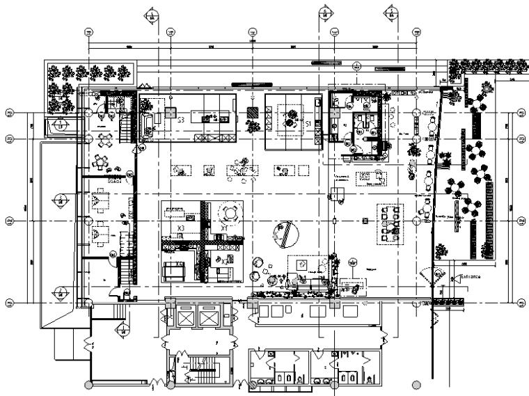 赫曼德高端橱柜连锁店全套施工图(附效果图+水电图+物料书)