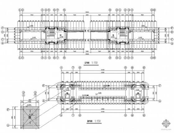 [合集]24套大门建筑施工图(学校、接待中心、公司大门、欧式)_17