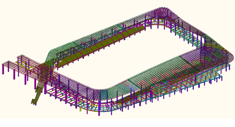 体育场屋盖钢结构计算书