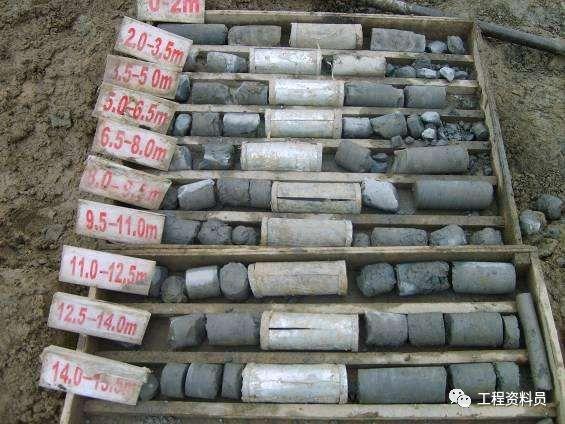 各种桩基础施工验收资料、基坑支护验收资料_5