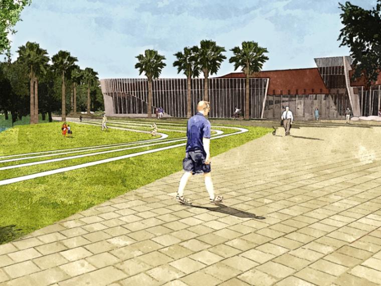 [海南]三亚居住区项目概念景观设计(现代,绿色)