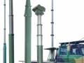 铝镁合金通讯天线桅杆 15米照明避雷针监控手摇便携升降杆