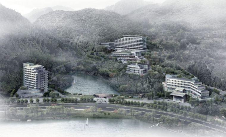 [浙江]千岛湖度假酒店建筑设计方案文本