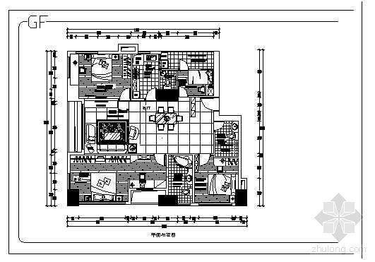 某大厦酒店装修施工图