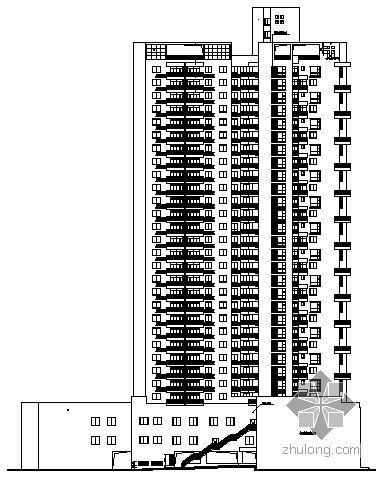 [广安市]某医药采购公司旧房改造工程建筑施工图