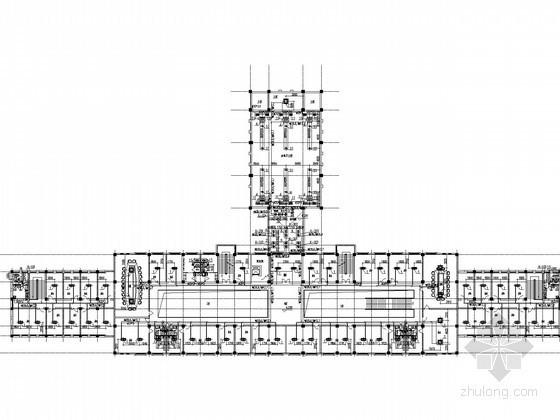 [宁夏]行政中心办公楼空调采暖系统设计施工图