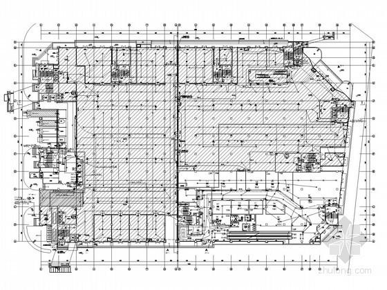 [上海]大型商业购物广场弱电施工图纸