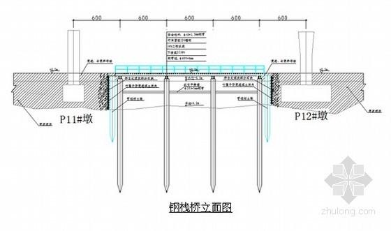 [福建]市政大桥钢栈桥施工方案