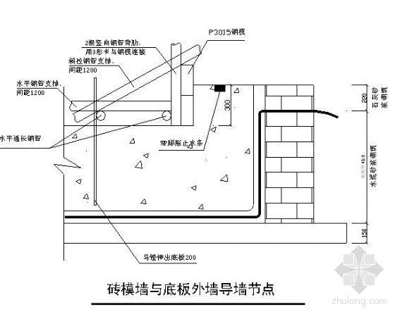 北京市某住宅工程地下室防水施工方案