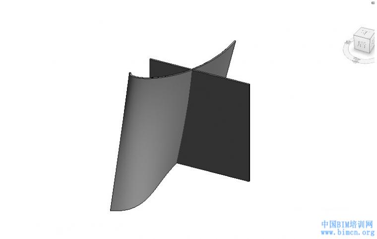 BIM软件小技巧:REVIT异型外墙与内墙的连接处理