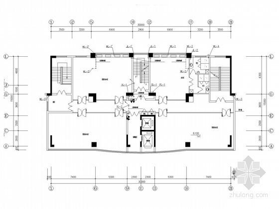 十六层综合办公楼给排水图纸