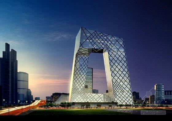 [北京]知名地标性电视台设计方案文本(国际知名建筑师)