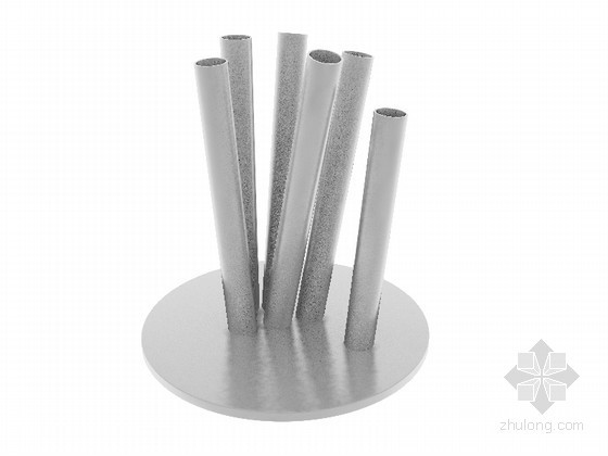 金属装饰摆件3D模型下载