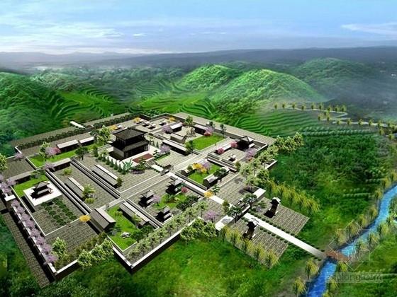 [河南]楚豫名县综合旅游景区景观规划设计方案