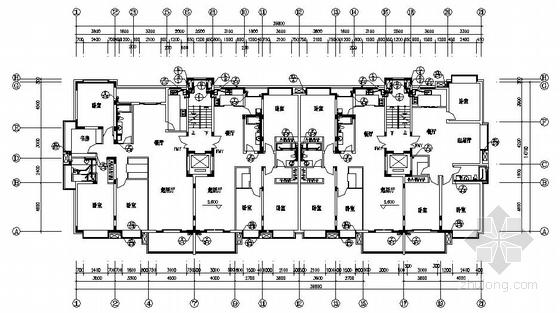 某九层普通住宅给排水设计图