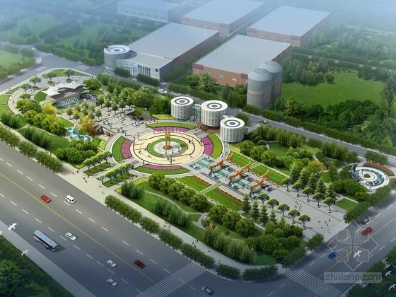 [青海]城市酒文化广场景观规划设计方案