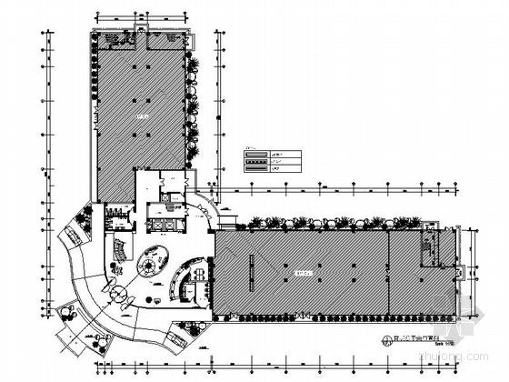 [成都]独家经营会议型综合酒店培训中心装修施工图(含雨篷计算书)