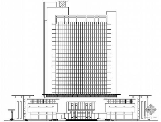 某二十三层综合大厦建筑施工图
