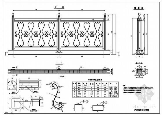 不锈钢护栏节点详图设计