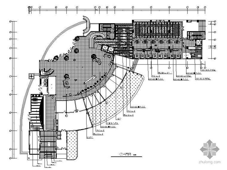 [湖南]某公交调度中心办公空间施工图
