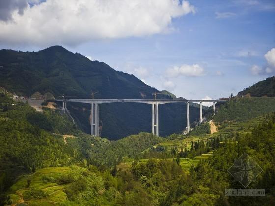 高速公路连续刚构特大桥施工组织设计(双肢薄壁空心墩)