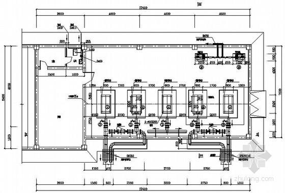 鼓风机房施工图