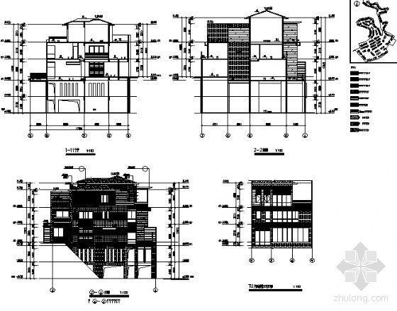 丹堤C区21、22号楼建筑施工图-2