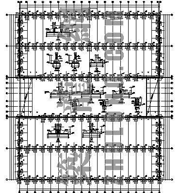 单层大厂房结构设计图纸
