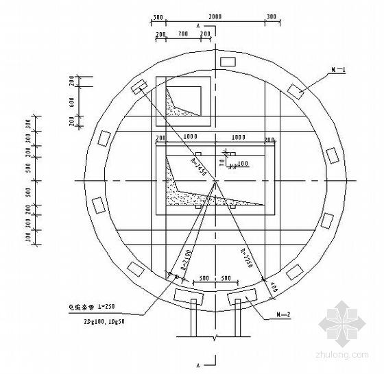 某取水泵房结构布置图
