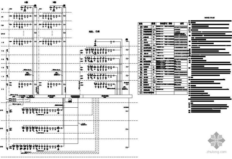 某30层建筑火灾报警系统图