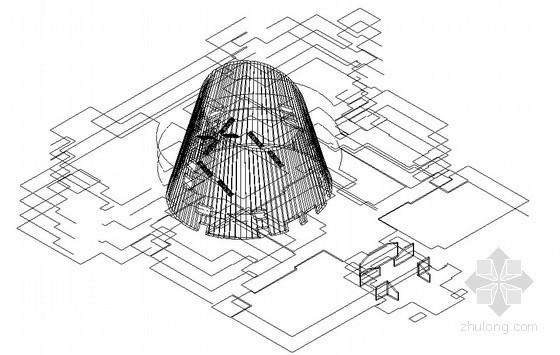 [陕西]博物馆工程椭圆斜切形大厅施工方案