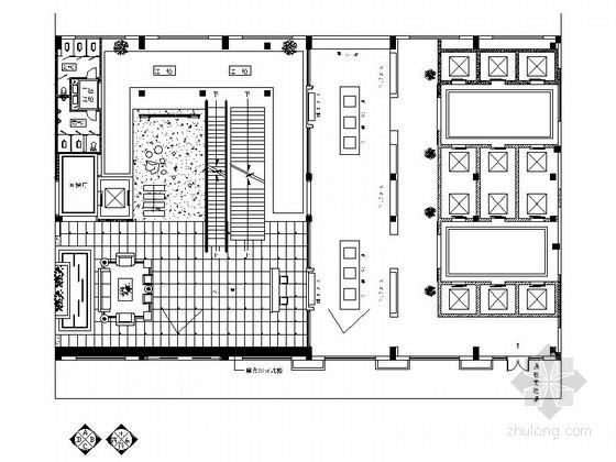 [浙江]现代办公室大厅室内装修图(含效果图)