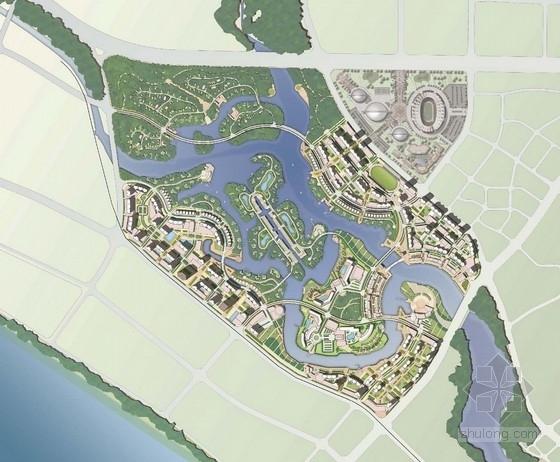 [三亚]国际水城湖泊旅游度假区概念性总体规划方案
